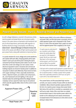 Power Quality Issues Power Factor