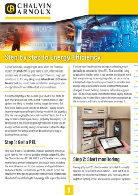 Step by step to energy efficiency