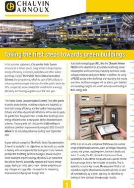 Taking the first steps towards green buildings
