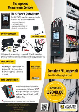 Complete PEL Logger kit