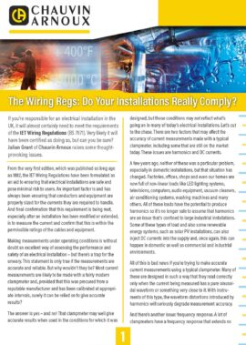 Wiring regs: do your installations really comply?