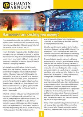 Harmonics are costing you money