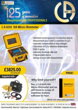 CA 6255 Micro-ohmmeter